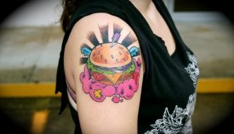 "The Joy of Random Googling, Part 1: ""Cheeseburger Tattoo Stomach"""